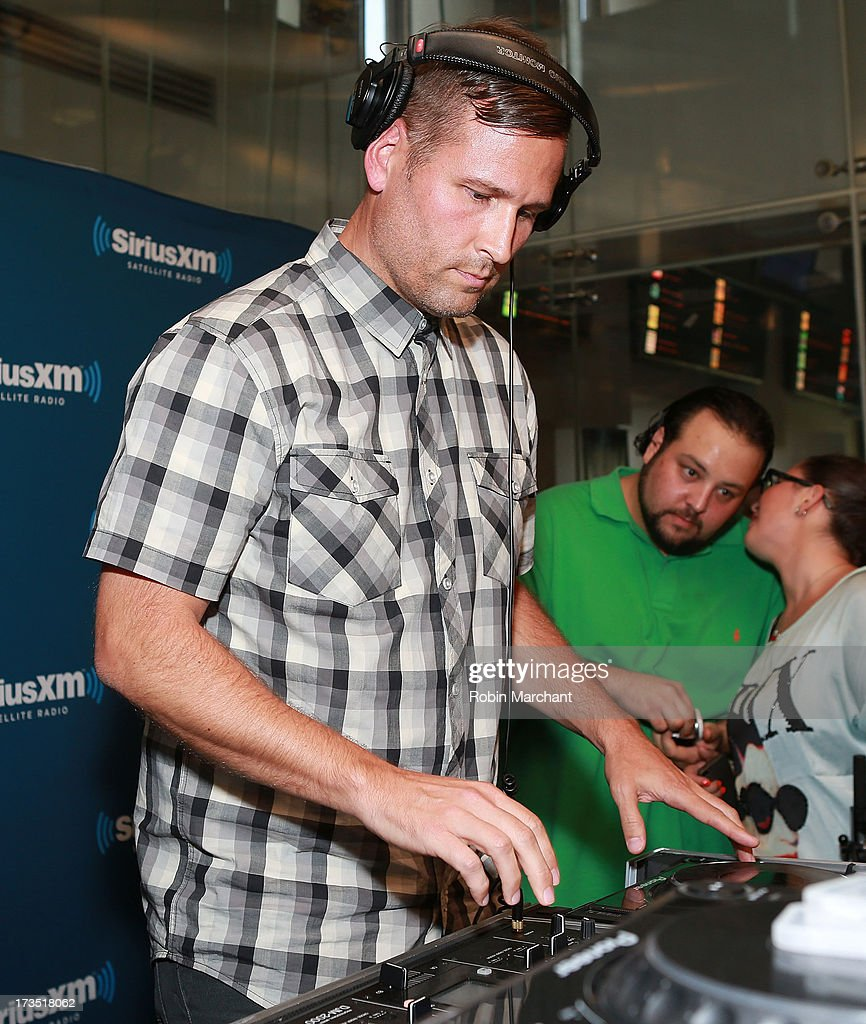 Kaskade performs as part of SiriusXM's 'Electric Aquarium' series on Electric Area on July 15, 2013 in New York City.