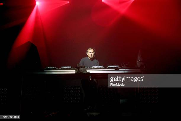 Kaskade performs on Fremont Stage during day 2 of the 2017 Life Is Beautiful Festival on September 23 2017 in Las Vegas Nevada