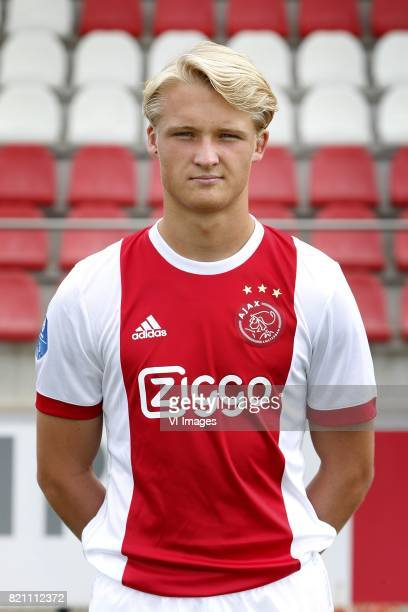 Kasper Dolberg during the team presentation of Ajax on July 22 2017 at the at the Toekomst in Amsterdam The Netherlands