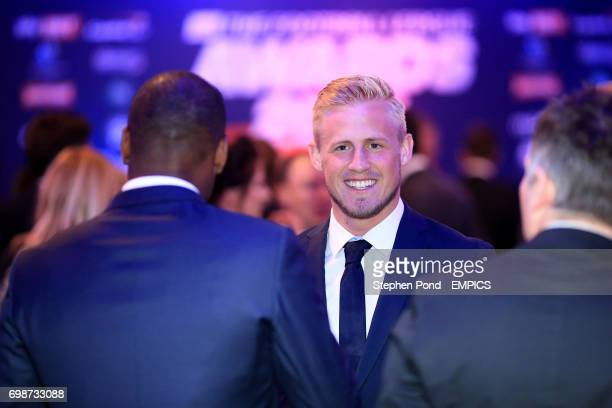 Kasper Schmeichel during the Football League Awards 2015 at The Brewery in London