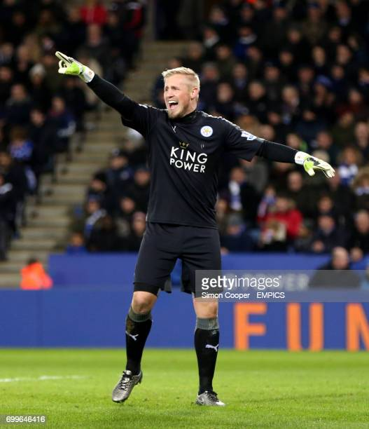 Kasper Schmeichel Leicester City goalkeeper