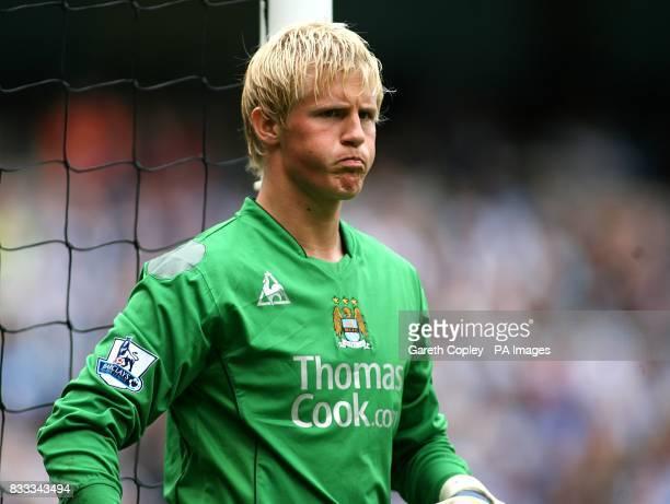 Kasper Schmeichel Manchester City goalkeeper