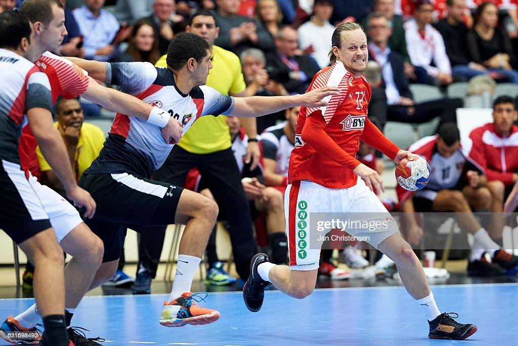 Denmark v Egypt - BYGMA Cup 2017