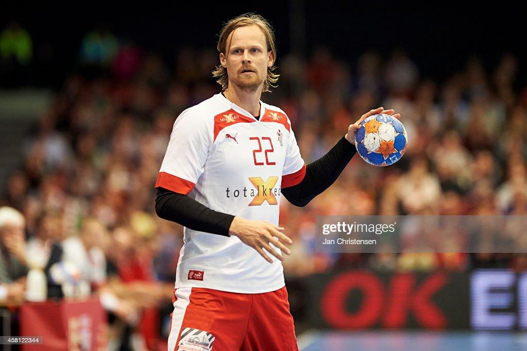 Denmark v Lithuania: MEN'S EHF EURO 2016 POLAND qualification