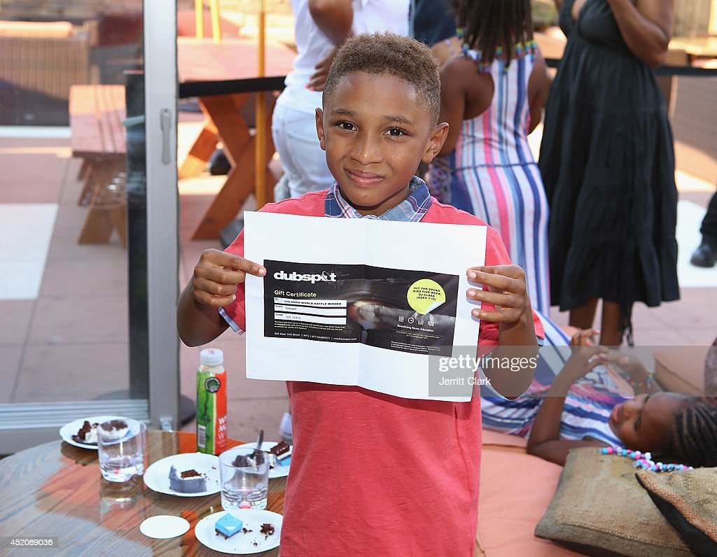 Kasseem Dean Jr. attends DJ Fulano's 11th birthday party at Rooftop 48 on July 12, 2014 in New York City.