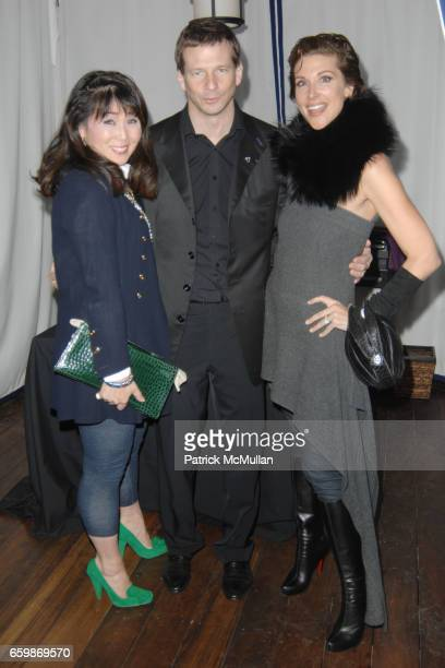Kassidy Schagrin Lorenz Baumer and Sally Perrin attend Lorenz Baumer Private Dinner in Celebration of his Paris Fine Jewelry Collection at The London...