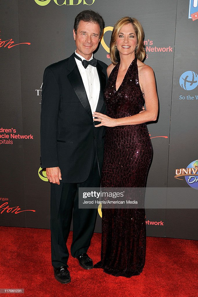 Kassie de Pavia and guest arrive at 38th Annual Daytime Entertainment Emmy Awards For Soap Opera Weekly on June 19, 2011 in Las Vegas, Nevada.