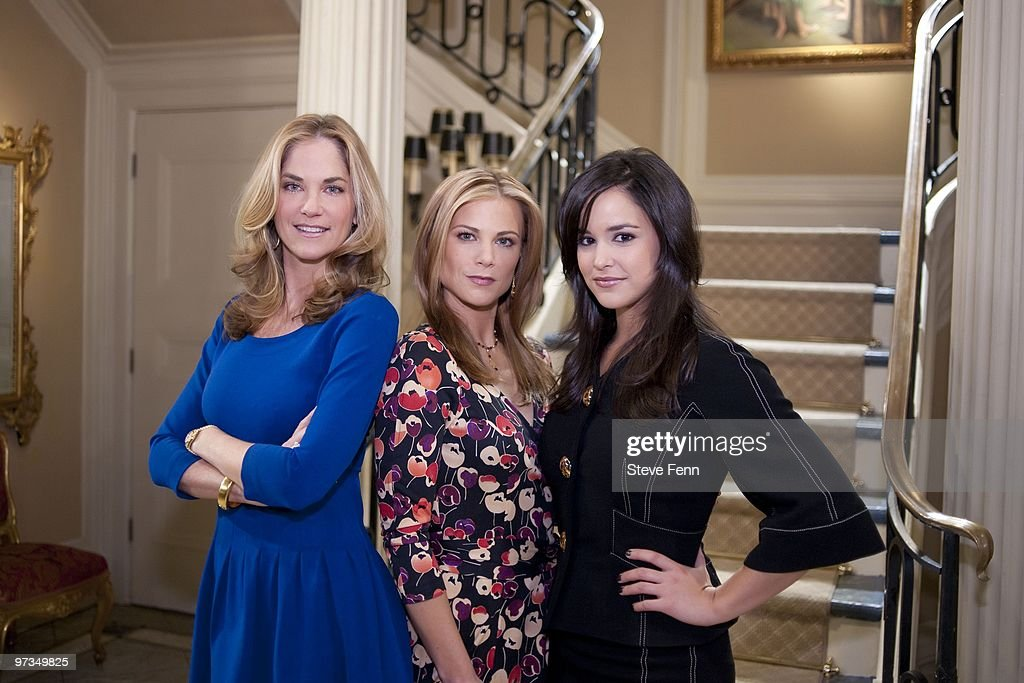 LIVE - Kassie DePaiva (Blair), Gina Tognoni (Kelly) and Melissa Fumero (Adriana) from ABC Daytime's 'One Life to Live.' 'One Life to Live' airs Monday-Friday (2:00 p.m. - 3:00 p.m., ET) on the ABC Television Network. OLTL10 (Photo by Steve Fenn/ABC via Getty Images) KASSIE
