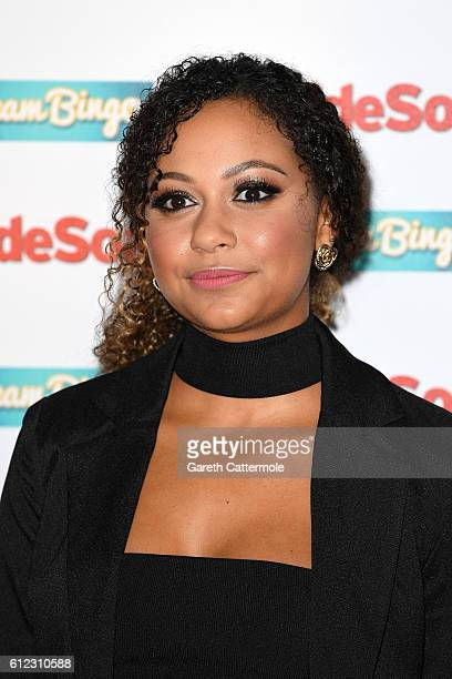 Kassius Nelson attends the Inside Soap Awards at The Hippodrome on October 3 2016 in London England