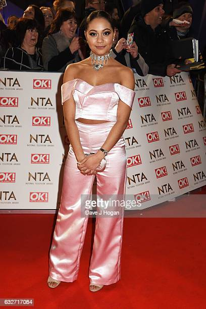 Kassius Nelson attends the National Television Awards at Cineworld 02 Arena on January 25 2017 in London England