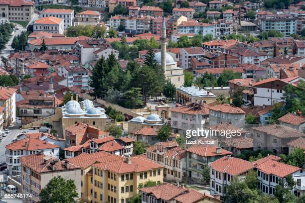 Kastamonu town seen from above, Turkey