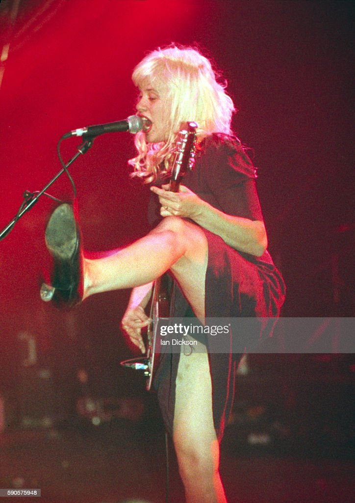 Kat Bjelland of Babes In Toyland performing on stage at The Forum Kentish Town London 18 September 1993