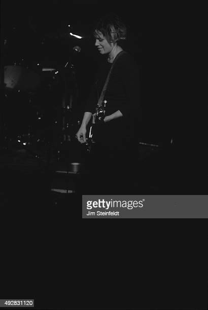 Kat Bjelland with Babes in Toyland performs at First Avenue nightclub in Minneapolis Minnesota on December 22 1994