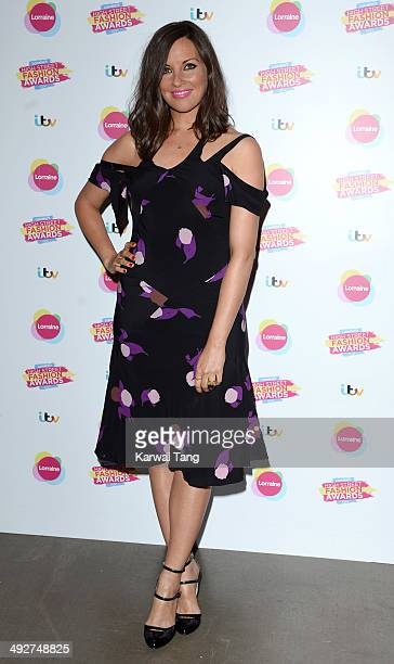 Kat Byrne attends Lorraine's High Street Fashion Awards held at Vinopolis on May 21 2014 in London England