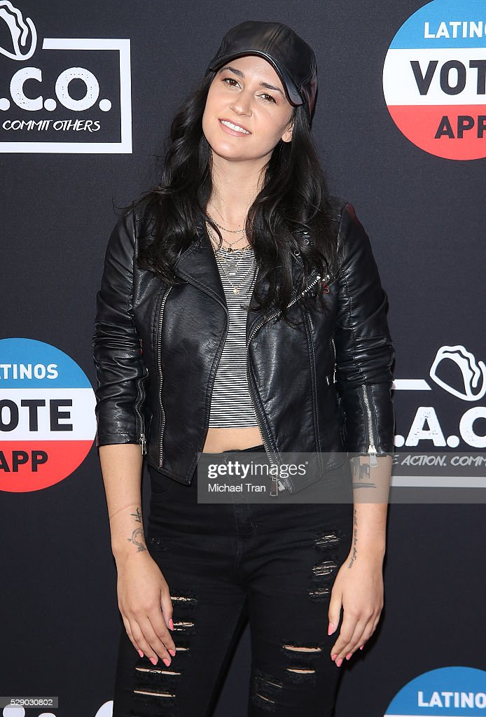 Kat Dahlia arrives at The National T.A.C.O. Challenge held at LA Plaza de Cultura y Artes on May 7, 2016 in Los Angeles, California.