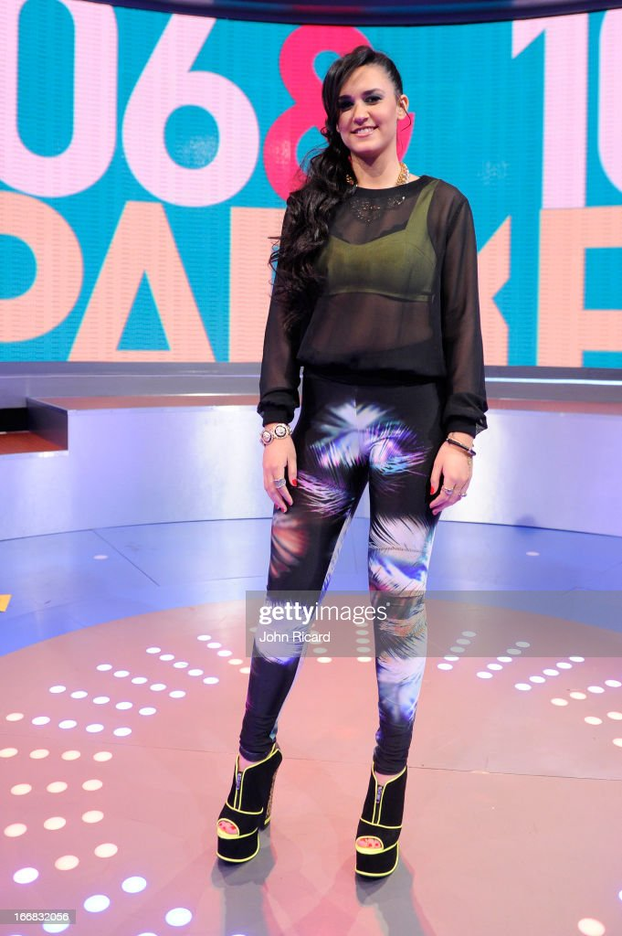 Kat Dahlia visits BET's '106 & Park' at BET Studios on April 17, 2013 in New York City.