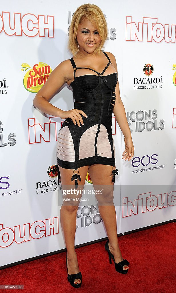 Kat Deluna attends In Touch Weekly's 5th Annual 2012 Icons Idols at Chateau Marmont on September 6 2012 in Los Angeles California