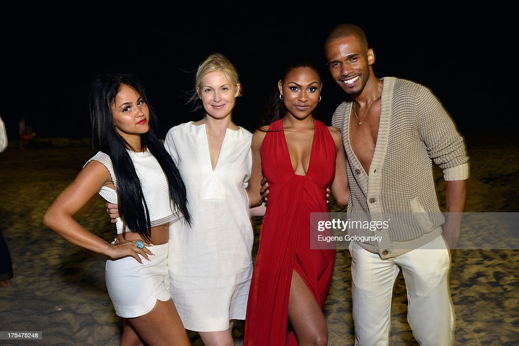 <a gi-track='captionPersonalityLinkClicked' href=/galleries/search?phrase=Kat+DeLuna&family=editorial&specificpeople=4135742 ng-click='$event.stopPropagation()'>Kat DeLuna</a>, <a gi-track='captionPersonalityLinkClicked' href=/galleries/search?phrase=Kelly+Rutherford&family=editorial&specificpeople=217987 ng-click='$event.stopPropagation()'>Kelly Rutherford</a>, Tashiana Washington and Eric West attend Women's Health Hamptons 'Party Under the Stars' for RUN10 FEED10 at Bridgehampton Tennis and Surf Club on August 3, 2013 in Bridgehampton, New York.