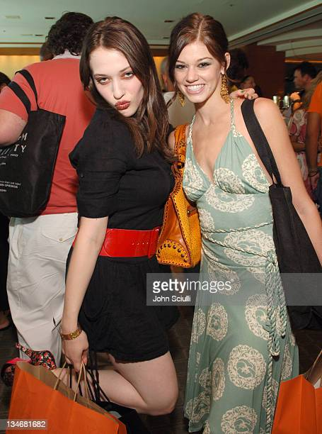 Kat Dennings and Rachel Melvin during Melanie Segal's Platinum Luxury Gifting Suite in Celebration of the 58th Annual Emmys and the 2006 MTV VMAs Day...