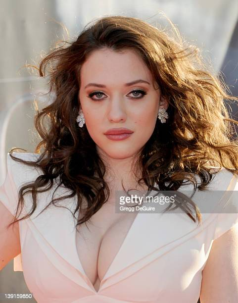 Kat Dennings arrives at the Los Angeles Premiere of 'Thor' at the El Capitan Theater on May 2 2011 in Hollywood California