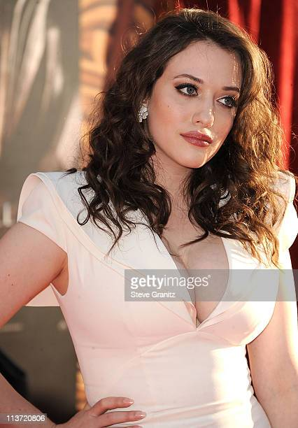 Kat Dennings attends the 'Thor' Los Angeles Premiere at the El Capitan Theatre on May 2 2011 in Hollywood California