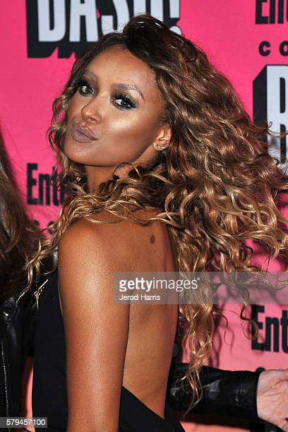 Kat Graham arrives at Entertainment Weekly's Annual ComicCon Party at Float at Hard Rock Hotel San Diego on July 23 2016 in San Diego California