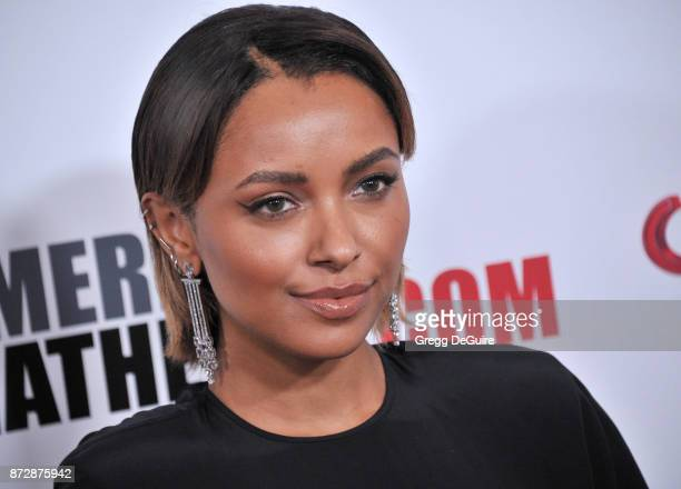 Kat Graham arrives at the 31st Annual American Cinematheque Awards Gala at The Beverly Hilton Hotel on November 10 2017 in Beverly Hills California