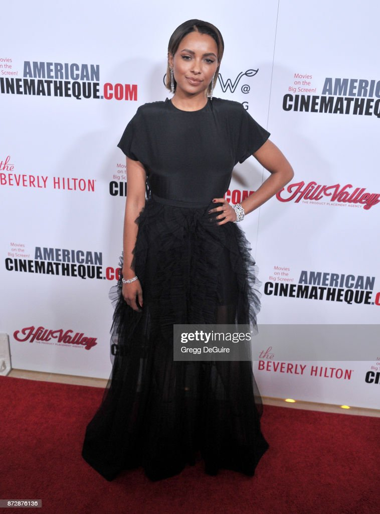 Kat Graham arrives at the 31st Annual American Cinematheque Awards Gala at The Beverly Hilton Hotel on November 10, 2017 in Beverly Hills, California.