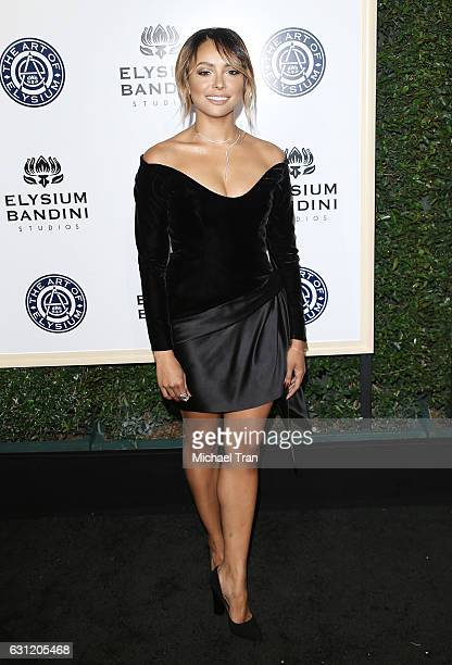 Kat Graham arrives at The Art of Elysium celebrating the 10th Anniversary held at Red Studios on January 7 2017 in Los Angeles California
