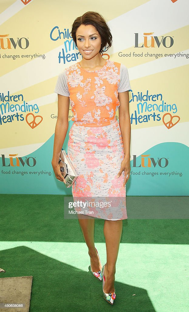 Kat Graham arrives at the Children Mending Hearts's 6th Annual Fundraiser 'Empathy Rocks A Spring Into Summer Bash' held at a private residence on...