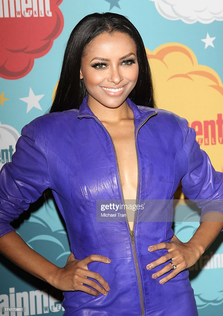 Kat Graham arrives at the Entertainment Weekly's Annual Comic-Con celebration held at Float at Hard Rock Hotel San Diego on July 20, 2013 in San Diego, California.