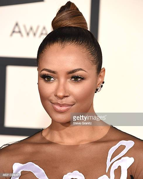 Kat Graham arrives at the The 57th Annual GRAMMY Awards on February 8 2015 in Los Angeles California
