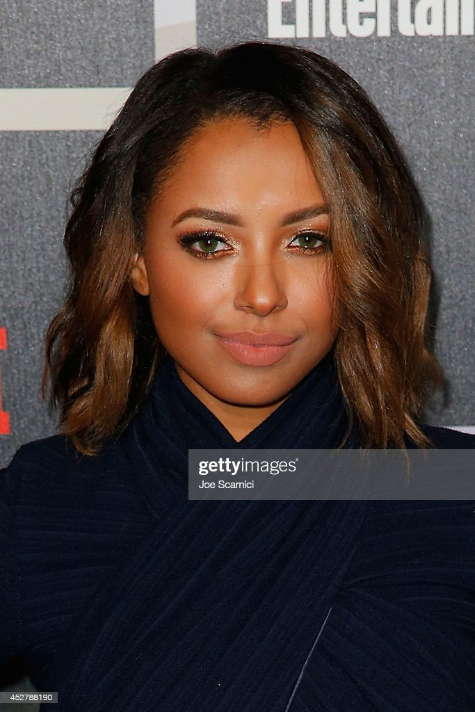 Kat Graham arrives to Entertainment Weekly's Annual Comic Con Celebration during Comic-Con International 2014 at Float at Hard Rock Hotel San Diego on July 26, 2014 in San Diego, California.