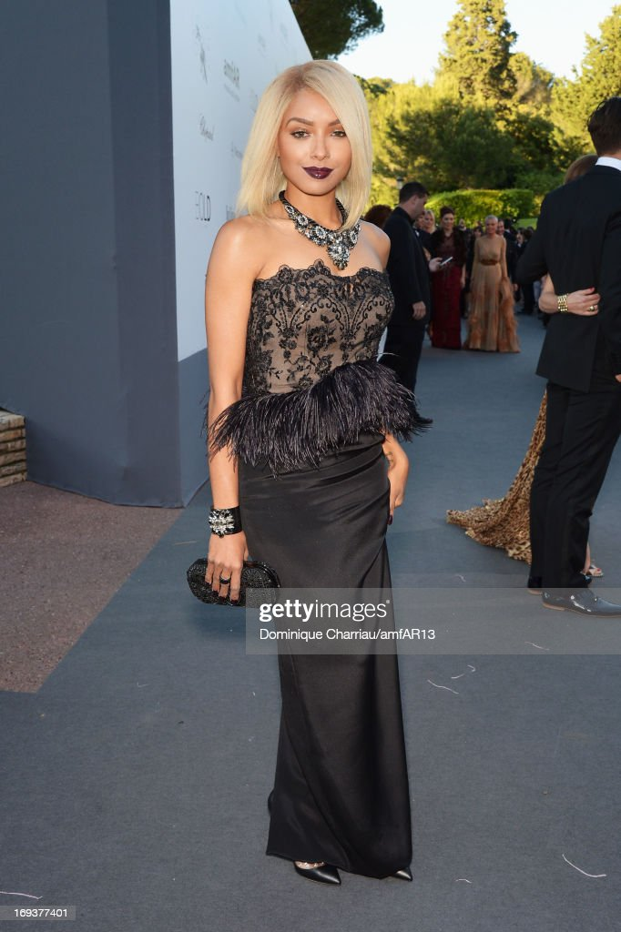 Kat Graham attends amfAR's 20th Annual Cinema Against AIDS during The 66th Annual Cannes Film Festival at Hotel du Cap-Eden-Roc on May 23, 2013 in Cap d'Antibes, France.