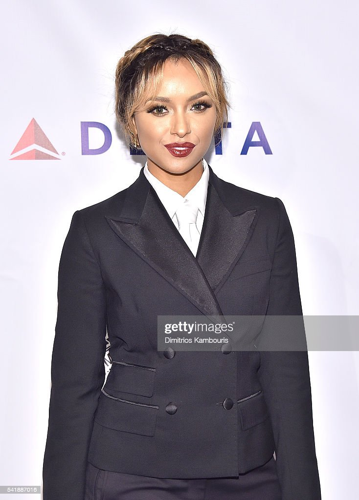Kat Graham attends as the Friars Club Honors Tony Bennett With The Entertainment Icon Award - Arrivals at New York Sheraton Hotel & Tower on June 20, 2016 in New York City.