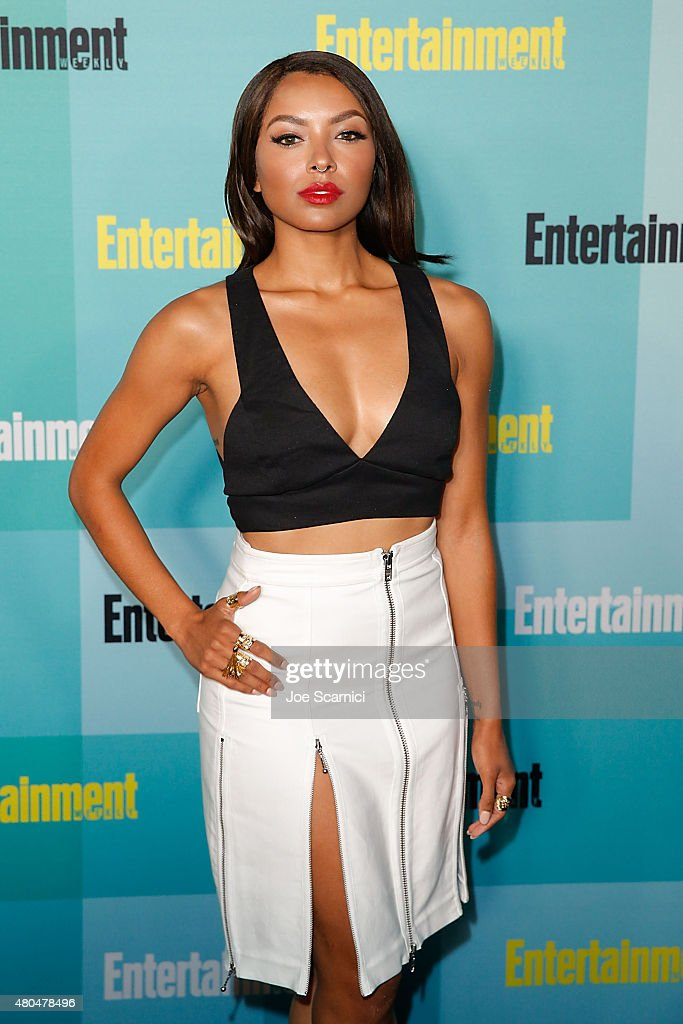 Kat Graham attends ComicCon International 2015 Entertainment Weekly ComicCon Celebration at Float at Hard Rock Hotel San Diego on July 11 2015 in San...