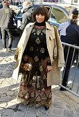 Christian Dior : Outside Arrivals - Paris Fashion Week...