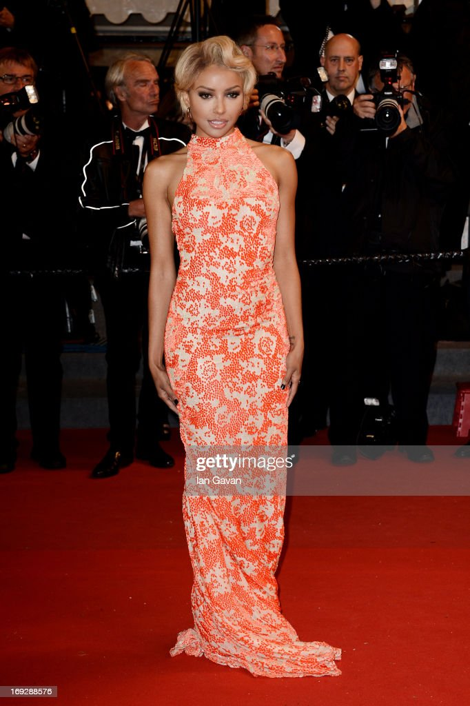 Kat Graham attends the 'Only God Forgives' Premiere during the 66th Annual Cannes Film Festival at Palais des Festivals on May 22 2013 in Cannes...