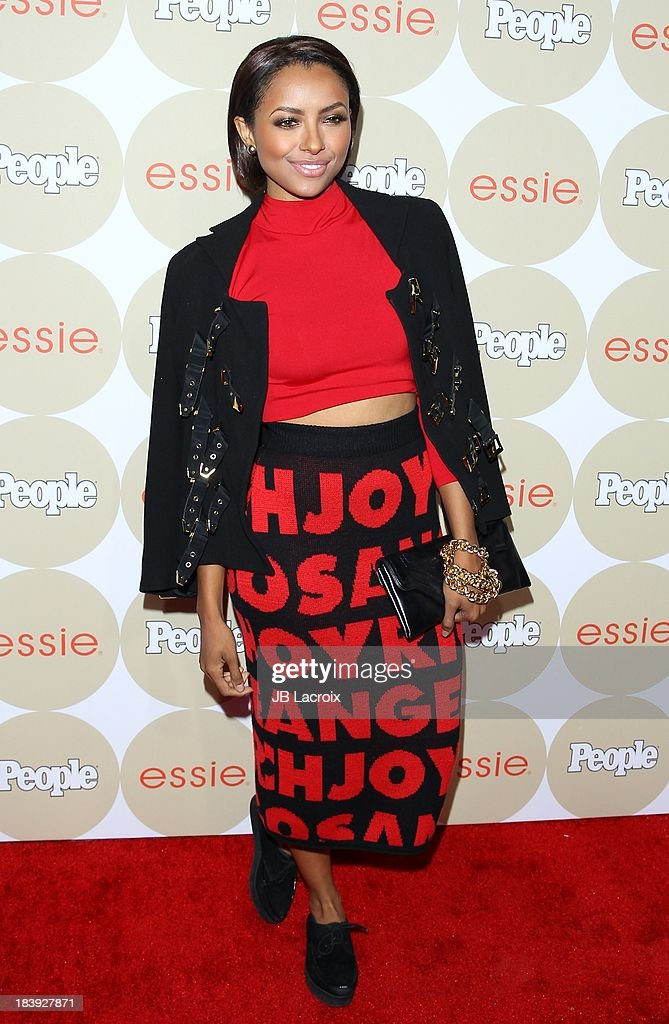 Kat Graham attends the People's One To Watch Event held at Hinoki & The Bird on October 9, 2013 in Los Angeles, California.
