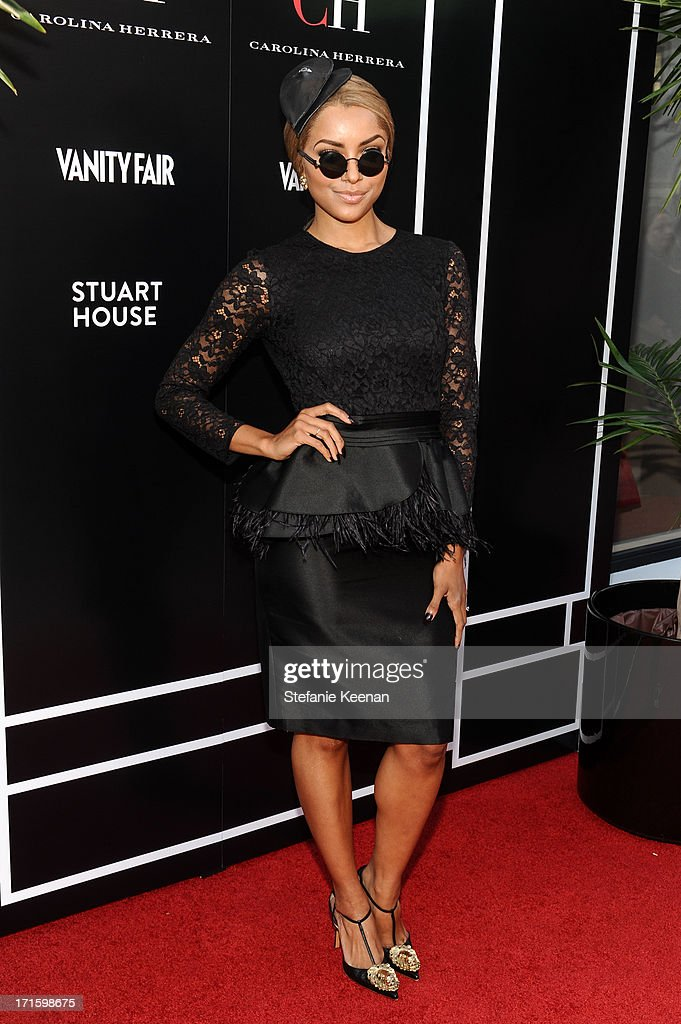 Kat Graham attends the Vanity Fair and CH Carolina Herrera celebration of the opening of the CH Carolina Herrera Boutique on Rodeo Drive at Carolina Herrera Boutique on June 26, 2013 in Los Angeles, California.