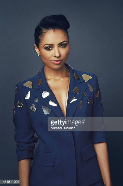 Kat Graham poses for a portrait at the Critics' Choice Awards 2014 on June 19 2014 in Beverly Hills California
