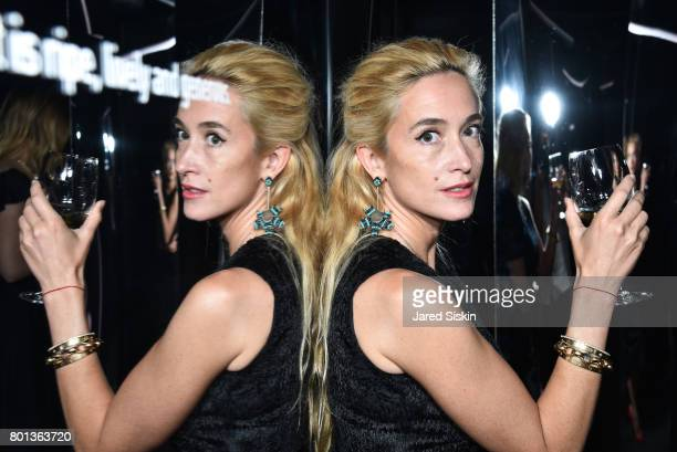 Kat Irlin attends The Dom Perignon Vintage Trinity Launch Party at 17 Irving Place on June 22 2017 in New York City