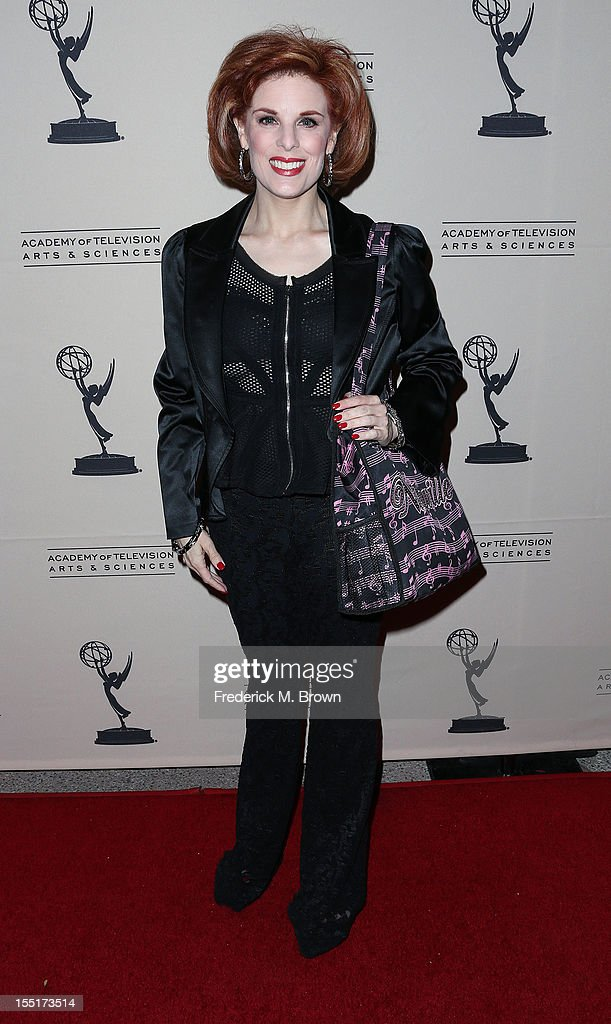 Kat Kramer attends The Academy Of Television Arts & Sciences' Presents 'The Choreographers: Yesterday, Today and Tomorrow at the Leonard H. Goldenson Theatre on November 1, 2012 in North Hollywood, California.