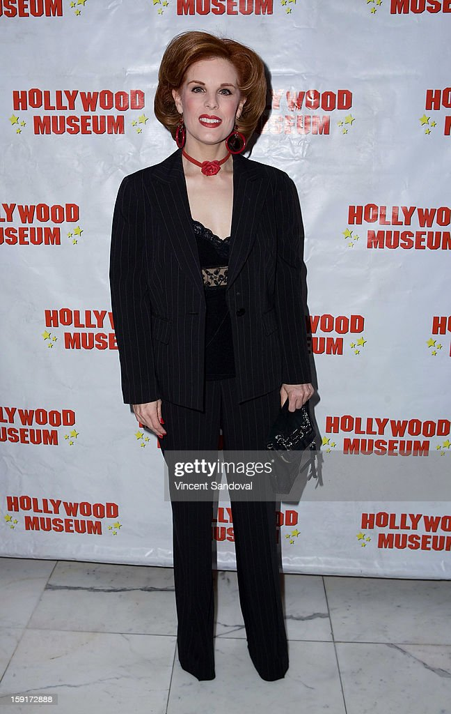 Kat Kramer attends The Hollywood Museum's 'Loretta Young: Hollywood Legend' exhibit opening party at The Hollywood Museum on January 8, 2013 in Hollywood, California.