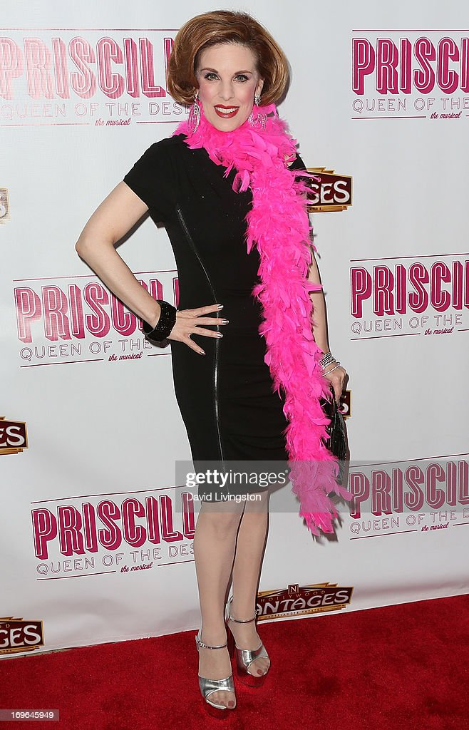 Kat Kramer attends the Los Angeles theatre premiere of 'Priscilla Queen of the Desert' at the Pantages Theatre on May 29, 2013 in Hollywood, California.