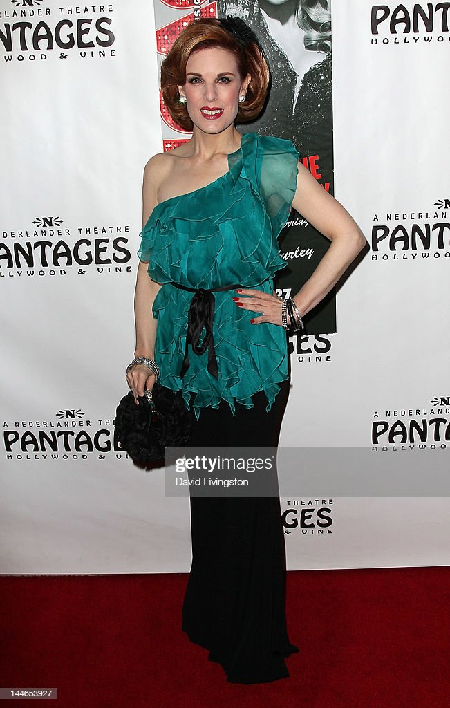 Kat Kramer attends the opening night of 'Chicago' at the Pantages Theatre on May 16, 2012 in Hollywood, California.