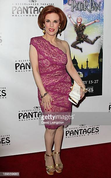 Kat Kramer attends the opening night of 'Peter Pan' at the Pantages Theatre on January 15 2013 in Hollywood California