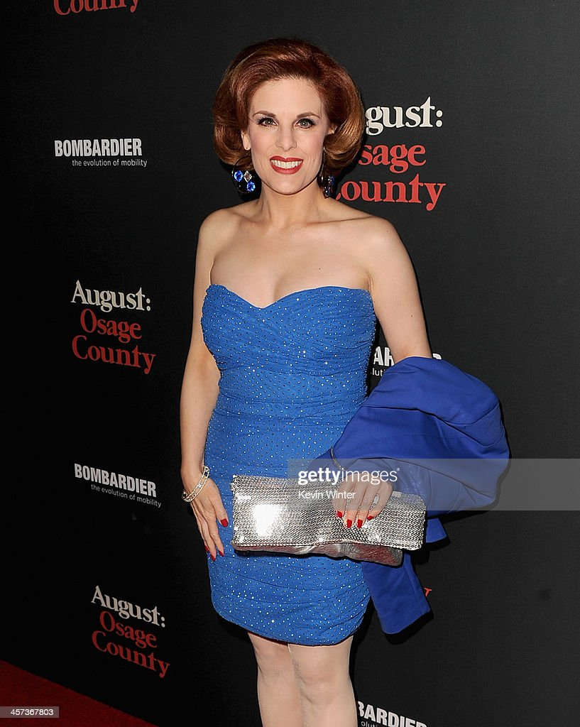 Kat Kramer attends the Premiere of The Weinstein Company's 'August: Osage County' at Regal Cinemas L.A. Live on December 16, 2013 in Los Angeles, California.