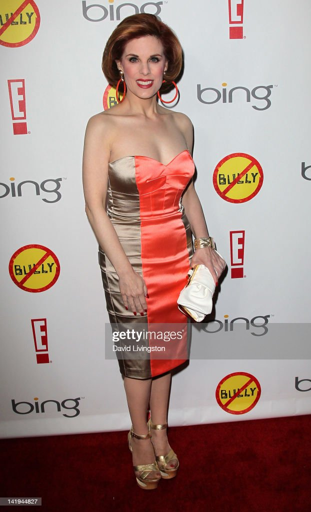 <a gi-track='captionPersonalityLinkClicked' href=/galleries/search?phrase=Kat+Kramer&family=editorial&specificpeople=236074 ng-click='$event.stopPropagation()'>Kat Kramer</a> attends the premiere of The Weinstein Company's 'Bully' at the Mann Chinese 6 on March 26, 2012 in Los Angeles, California.