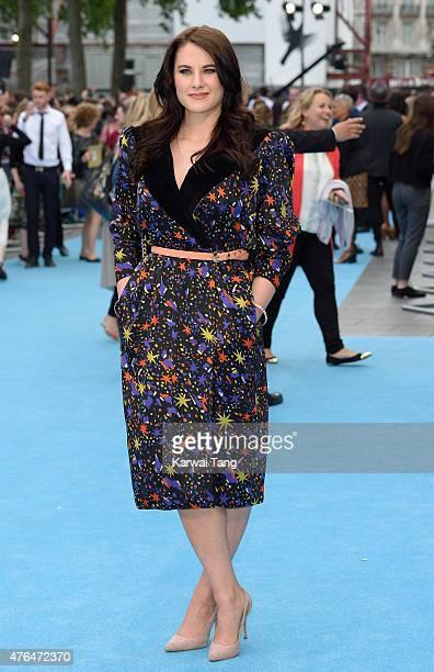 Kat Shoob attends the European Premiere of 'Entourage' at Vue West End on June 9 2015 in London England